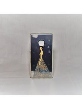 Cover telefono colore argento