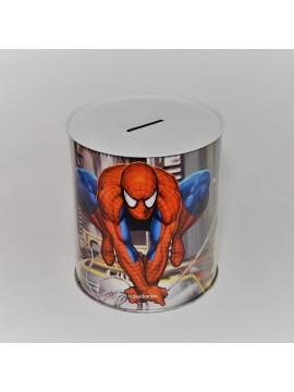 Salvadanaio Spiderman in metallo