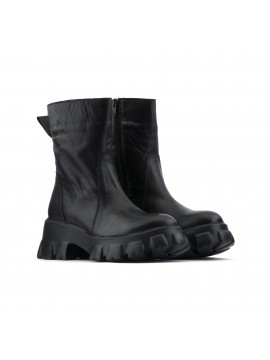 Combact boots in pelle   Le Ragazze
